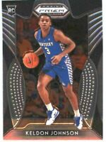 2019 Prizm Draft Picks Basketball #29 Keldon Johnson Rookie Card Kentucky