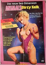 Animals Dirty Talk|Boiling Point 1978 Desiree Cousteau Original-Kinoplakat