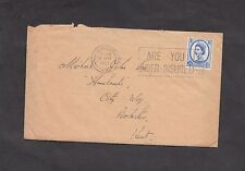 Cover 1967 Ashford Postmark & Stamp with Letter requesting a Loan (Personal)