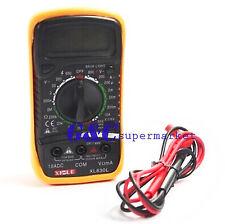 Digital XL-830L LCD Multimeter Voltmeter Ammeter Ohmmeter OHM VOLT Tester