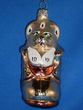 Kurt S. Adler Polonaise Ornament? Kitty Cat In Boot Christopher Radko?