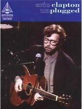 Learn to Play Eric Clapton Unplugged Guitar Tab with Chord Symbols MUSIC BOOK