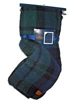 Pendleton Home Sherpa to Fleece reversible Blanket throw green & navy plaid