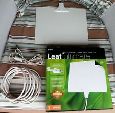 """TWO Mohu Leaf ULTIMATE AMPLIFIED INDOOR HDTV ANTENNA - 60 Miles FREE TV 9""""x11.5"""""""