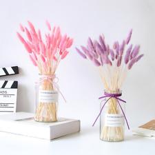 20pcs natural Silk flowers lagurus artificial flowers rabbit tail grass bouquet