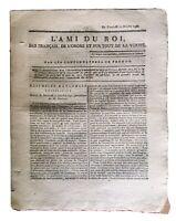 Ordre de Saint Louis 1791 L'ami du Roi Chevalier de Saint Louis Koblenz Troyes