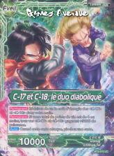 Dragon Ball Super Card Game ! C-17 et C-18, le duo diabolique BT2-070 UC - VF