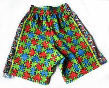 Lacrosse Shorts Lax Hut Jigsaw Puzzle Sublimation Print YOUTH S 19-24w New B245