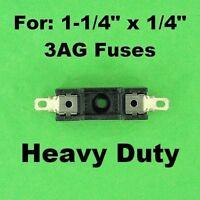 3AG Fuse Holder Block 12 Volt Vehicle Automotive 30A, 120V AC Universal Inline