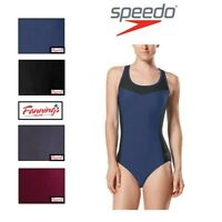 SALE! Speedo Women's One Piece Key Hole Back Swim Suit VARIETY SZ/CLR - C45