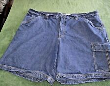 Mens size 44 Columbia denim carpenter jean shorts