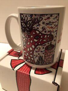 Howard Finster Christmas Mug, The Night Before Christmas, Clement More