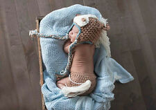 Horse Baby Boy Hat Infant Knitted Crochet Costume Prop Photo Photography Outfits