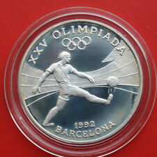 Andorra 10 Diners 1989 Silver Proof Coin km#56 Proof-Pp #F 1415 only 15.000