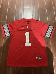 Justin Fields Jersey  Playoff Red Sizes Small-2XL