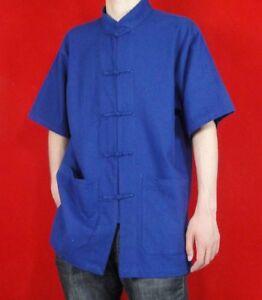 100% Cotton Kung Fu Martial Arts Tai Chi Shirt Clothing XS-XL Tailor Custom Made