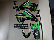 TEAM PRO CIRCUIT  KAWASAKI GRAPHICS  KX125  KX250 2003 2004 2005 2006 2007