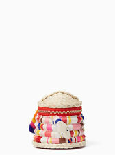 KATE SPADE Multi Colored Spice Things Up Snake Charmer Coin Purse PWRU5627 NWT