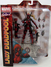 Marvel Comics Dec162578 Select Lady Deadpool Action Figure.