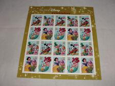 2005 Art Of Disney Celebration Mickey Mouse Snow White 20 USPS Stamp Sheet-New