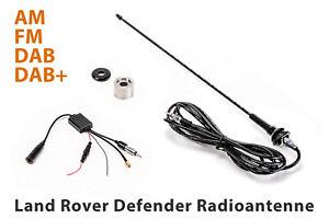 Land Rover Defender 90/110/130 Radio (flexible) Antenna - AM / FM / DAB / DAB +