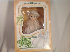 "NEW TINY TEARS DOLL CHRISTENING OUTFIT VINTAGE 1984 CRIES REAL TEARS 13"" IDEAL"