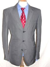 LUXURY MEN  JACK REID  GREY SUIT 40L  (50L EUR) W36 x L33