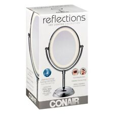 Conair Reflections Vanity Mirror 7X-Magnification LED Lighted Makeup lampChrome