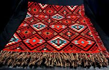 Ultra Soft Southwest Accent Throw Blanket Tapestry 48x60 Santa Fe Style