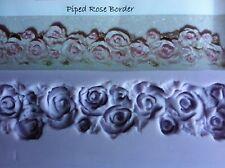 Karen Davies Piped Rose Border Sugarcraft Mould NEXT DAY DESPATCH!