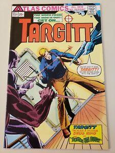 Targitt #1 (March 1975, Atlas Comics) NM- 9.2 or UP! Howard Nostrand Cover & Art
