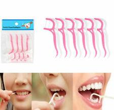 25pcs Dental Floss Picks Flosser Teeth Tooth Picks Stick Oral Care Tooth Clean