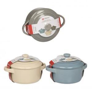 Ceramic 225ml Oven Safe Lidded Baking Serving Dish