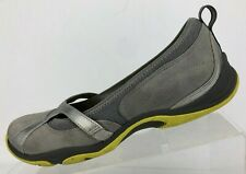 Clarks Privo Loafers Comfort Gray Hiking Walking Ballet Flats Womens US 7.5 M