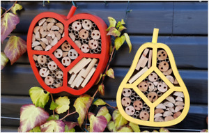 Beneficial Bee & Insect House bug hotel wooden Ladybirds Lacewings solitary bees