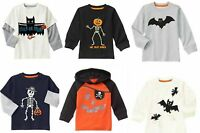 NWT Gymboree Boy's Happy Harvest Halloween Tees  6-12, 18-24 mos, 2T
