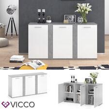 Vicco NOVELLI Sideboard - Beton/Weiß (1-3YT-24461)