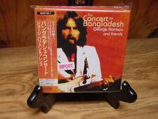 GEORGE HARRISON THE CONCERT FOR BANGLADESH RARE JAPAN OBI Replica CD BOX SET