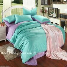 Patternless 100% Silk Quilt Covers