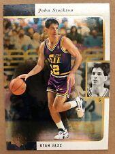 1995-96 SP #137 John Stockton Utah Jazz Basketball Card