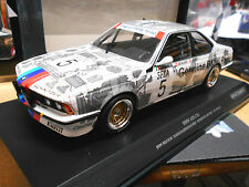 Bmw 635 CSI 24h spa 1985 genuine Belgiu #5 Ravaglia berger Surer Minichamps 1:18