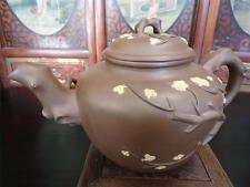 Rare Extra Large Chinese Vintage Yixing  Zisha Pottery  Signed Tea Pot (TP304)