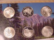 2005 WESTWARD JOURNEY 6 COIN SET (25 SETS)