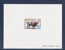 épreuve de luxe   protection de la nature  bison     1974   num: 1795