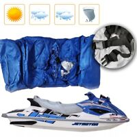 Heavy Duty Speedboat Cover Dust Cover Waterproof PWC Cover Blue Jet Ski Cover