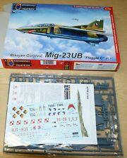 MiG-23 UB Flogger C Warsaw Pact (4x camo) in 1/72 von KPM