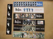 THE BEATLES SET OF 7 ALBUM LP BOOKMARKS JOHN LENNON PAUL McCARTNEY  HARRISON