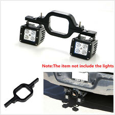 Tow Hitch Mounting LED Bracket Backup Reverse Lights For Off-Road 4x4 Truck Jeep