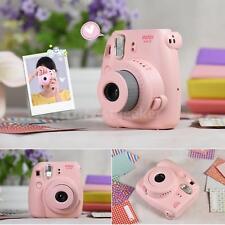 Fujifilm Instax Mini8 Camera Film Selfie Photo Instant Pop-Up Lens Polaroid PINK