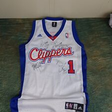 LA Clippers Basketball Jersey, Davis #1, Team Signed Jersey